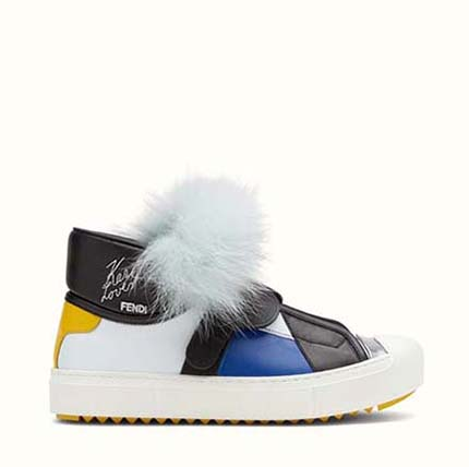 Fendi Shoes Fall Winter 2016 2017 For Women Look 3