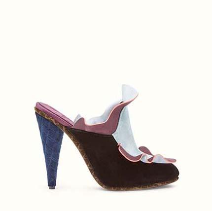 Fendi Shoes Fall Winter 2016 2017 For Women Look 30