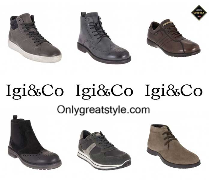 Igico Shoes Fall Winter 2016 2017 Footwear For Men