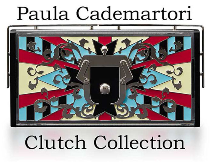 Paula Cademartori Clutch Fall Winter 2016 2017 Look 1