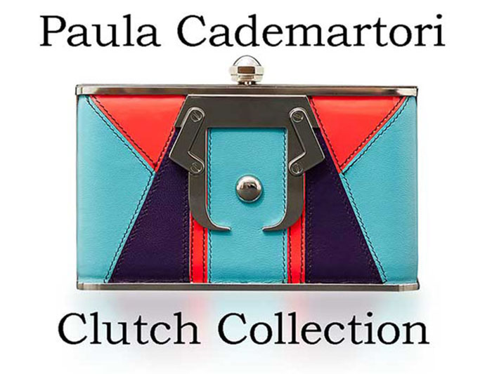Paula Cademartori Clutch Fall Winter 2016 2017 Look 13