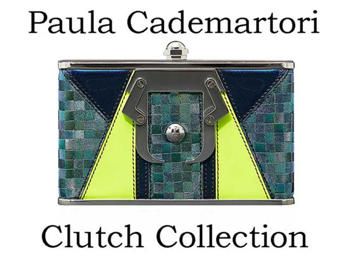 Paula Cademartori Clutch Fall Winter 2016 2017 Look 16