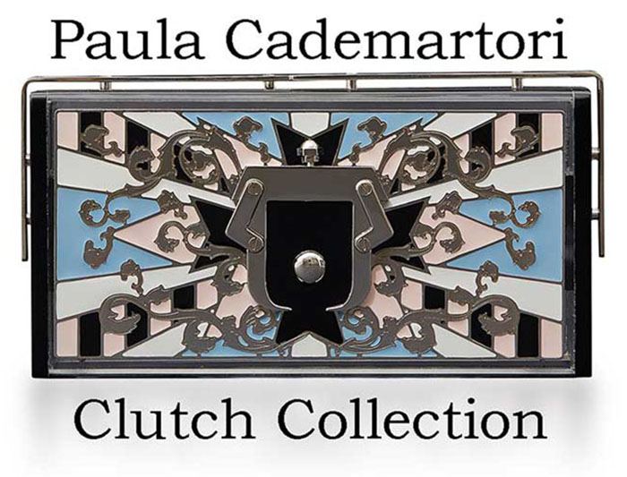 Paula Cademartori Clutch Fall Winter 2016 2017 Look 9