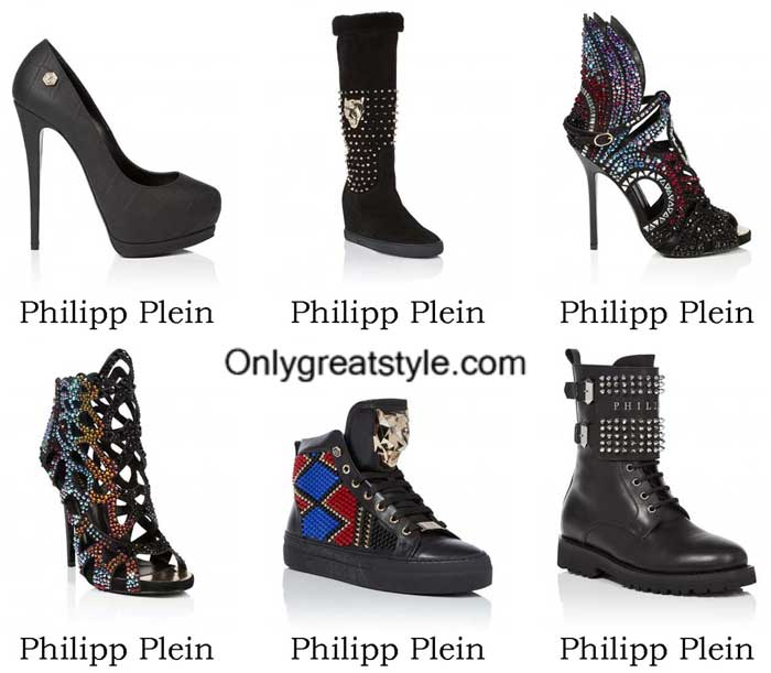 Philipp Plein Shoes Fall Winter 2016 2017 For Women