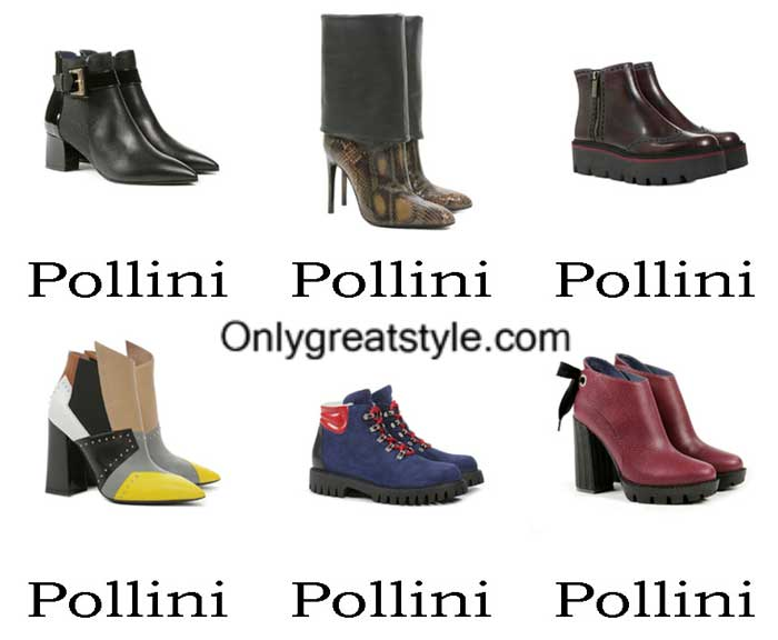 Pollini Boots Fall Winter 2016 2017 Footwear For Women