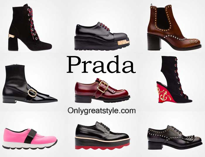 Prada Shoes Fall Winter 2016 2017 Footwear For Women
