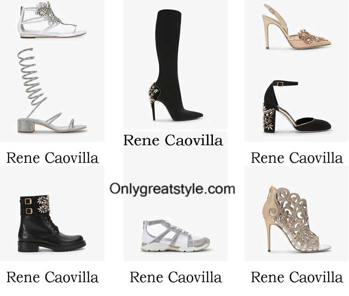 Rene Caovilla Shoes Fall Winter 2016 2017 For Women