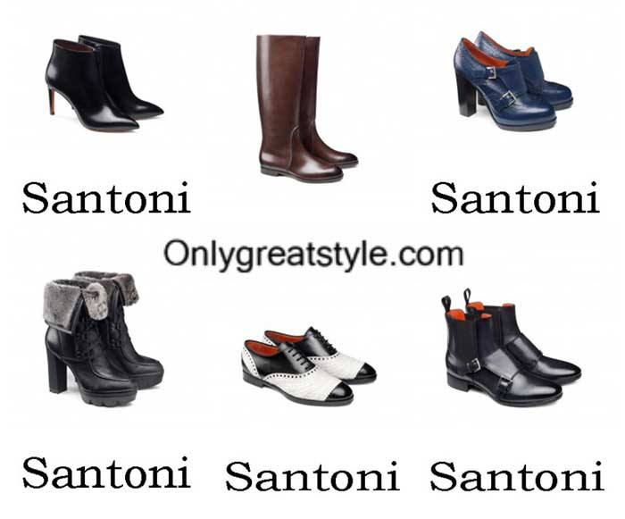 Santoni Shoes Fall Winter 2016 2017 Footwear For Women