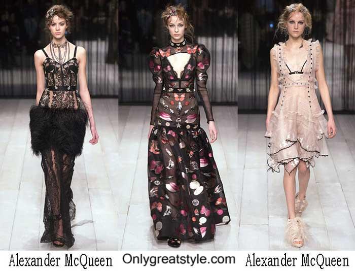 Alexander McQueen Fall Winter 2016 2017 Fashion For Women