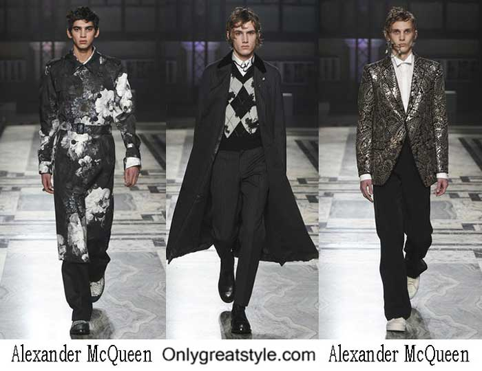 Alexander McQueen Fall Winter 2016 2017 Style For Men