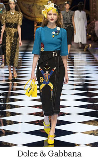 Brand Dolce Gabbana Style Fall Winter 2015 2016 Look 1
