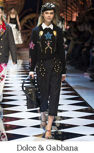 Brand Dolce Gabbana Style Fall Winter 2015 2016 Look 11