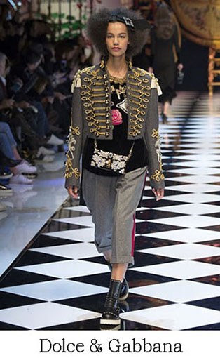 Brand Dolce Gabbana Style Fall Winter 2015 2016 Look 12