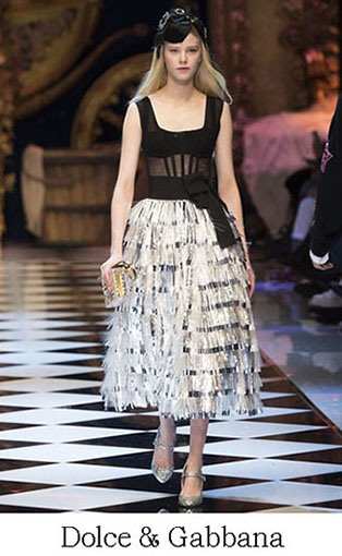 Brand Dolce Gabbana Style Fall Winter 2015 2016 Look 13