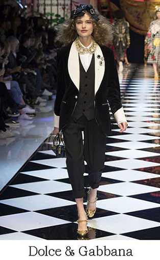 Brand Dolce Gabbana Style Fall Winter 2015 2016 Look 15