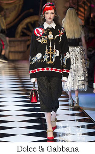 Brand Dolce Gabbana Style Fall Winter 2015 2016 Look 16