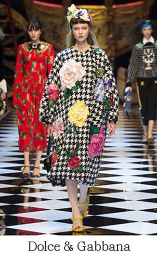 Brand Dolce Gabbana Style Fall Winter 2015 2016 Look 17