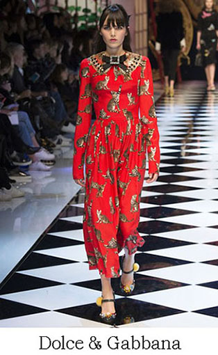 Brand Dolce Gabbana Style Fall Winter 2015 2016 Look 18