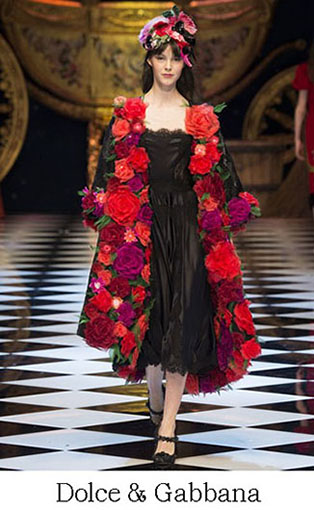 Brand Dolce Gabbana Style Fall Winter 2015 2016 Look 19