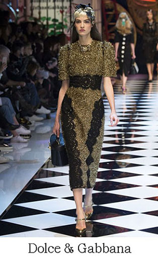 Brand Dolce Gabbana Style Fall Winter 2015 2016 Look 20