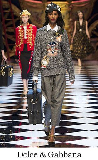 Brand Dolce Gabbana Style Fall Winter 2015 2016 Look 28