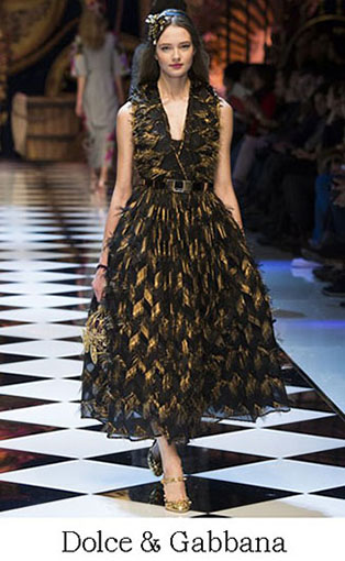 Brand Dolce Gabbana Style Fall Winter 2015 2016 Look 29