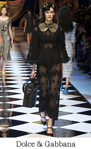 Brand Dolce Gabbana Style Fall Winter 2015 2016 Look 32