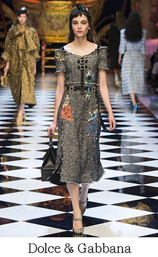 Brand Dolce Gabbana Style Fall Winter 2015 2016 Look 33