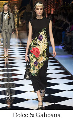 Brand Dolce Gabbana Style Fall Winter 2015 2016 Look 35