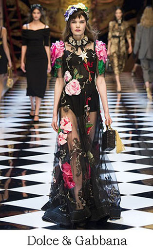 Brand Dolce Gabbana Style Fall Winter 2015 2016 Look 38