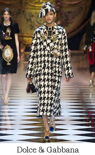 Brand Dolce Gabbana Style Fall Winter 2015 2016 Look 4