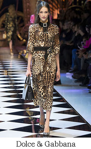 Brand Dolce Gabbana Style Fall Winter 2015 2016 Look 40