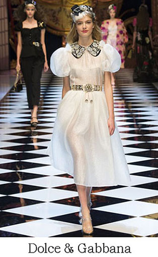 Brand Dolce Gabbana Style Fall Winter 2015 2016 Look 41