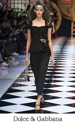 Brand Dolce Gabbana Style Fall Winter 2015 2016 Look 42