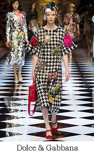 Brand Dolce Gabbana Style Fall Winter 2015 2016 Look 44