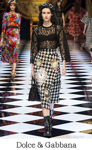Brand Dolce Gabbana Style Fall Winter 2015 2016 Look 45