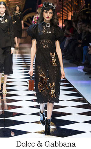 Brand Dolce Gabbana Style Fall Winter 2015 2016 Look 46