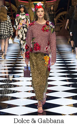 Brand Dolce Gabbana Style Fall Winter 2015 2016 Look 48