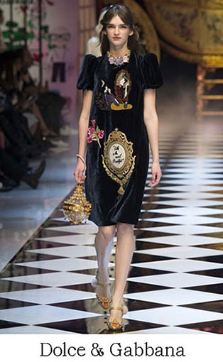Brand Dolce Gabbana Style Fall Winter 2015 2016 Look 5
