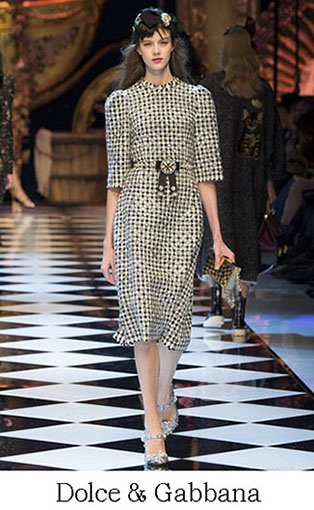 Brand Dolce Gabbana Style Fall Winter 2015 2016 Look 52