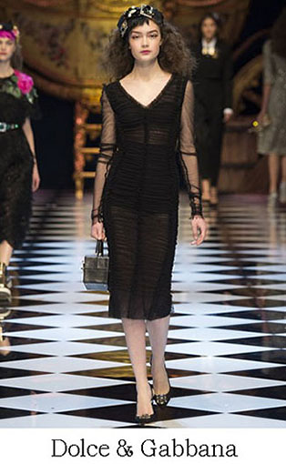 Brand Dolce Gabbana Style Fall Winter 2015 2016 Look 54
