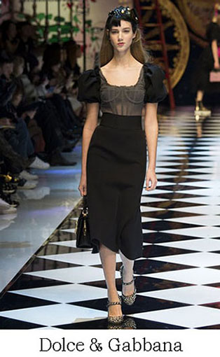 Brand Dolce Gabbana Style Fall Winter 2015 2016 Look 55