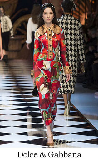 Brand Dolce Gabbana Style Fall Winter 2015 2016 Look 6