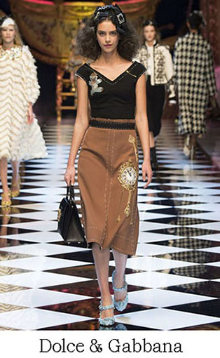 Brand Dolce Gabbana Style Fall Winter 2015 2016 Look 7