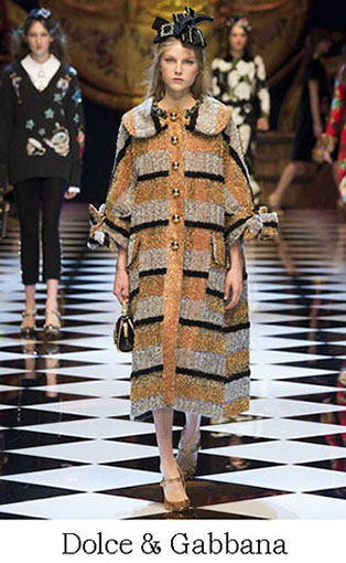Brand Dolce Gabbana Style Fall Winter 2015 2016 Look 9