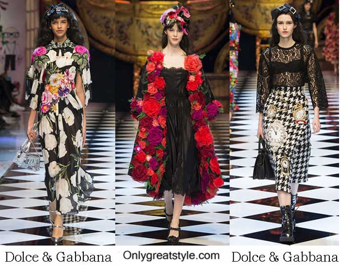 Brand Dolce Gabbana Style Fall Winter 2015 2016 Women