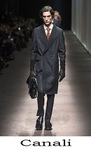 Canali Fall Winter 2016 2017 Lifestyle For Men Look 1