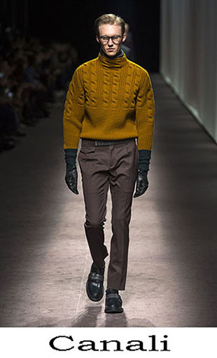 Canali Fall Winter 2016 2017 Lifestyle For Men Look 12