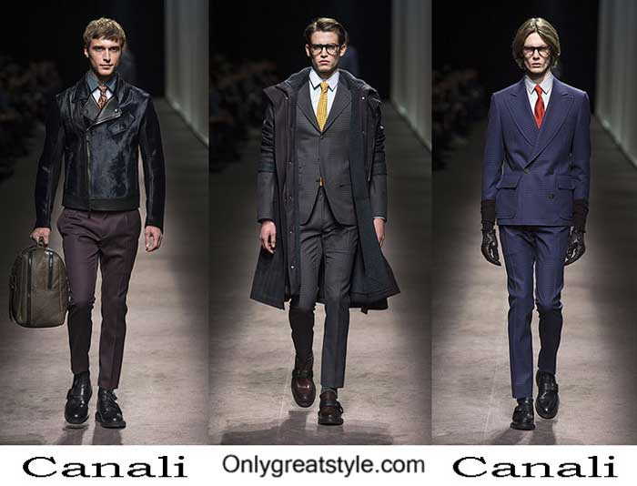Canali Fall Winter 2016 2017 Lifestyle For Men