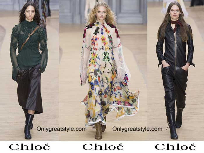 Chloé Fall Winter 2016 2017 Style Brand For Women